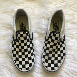 [Vans] Checkerboard Classic Slip-On